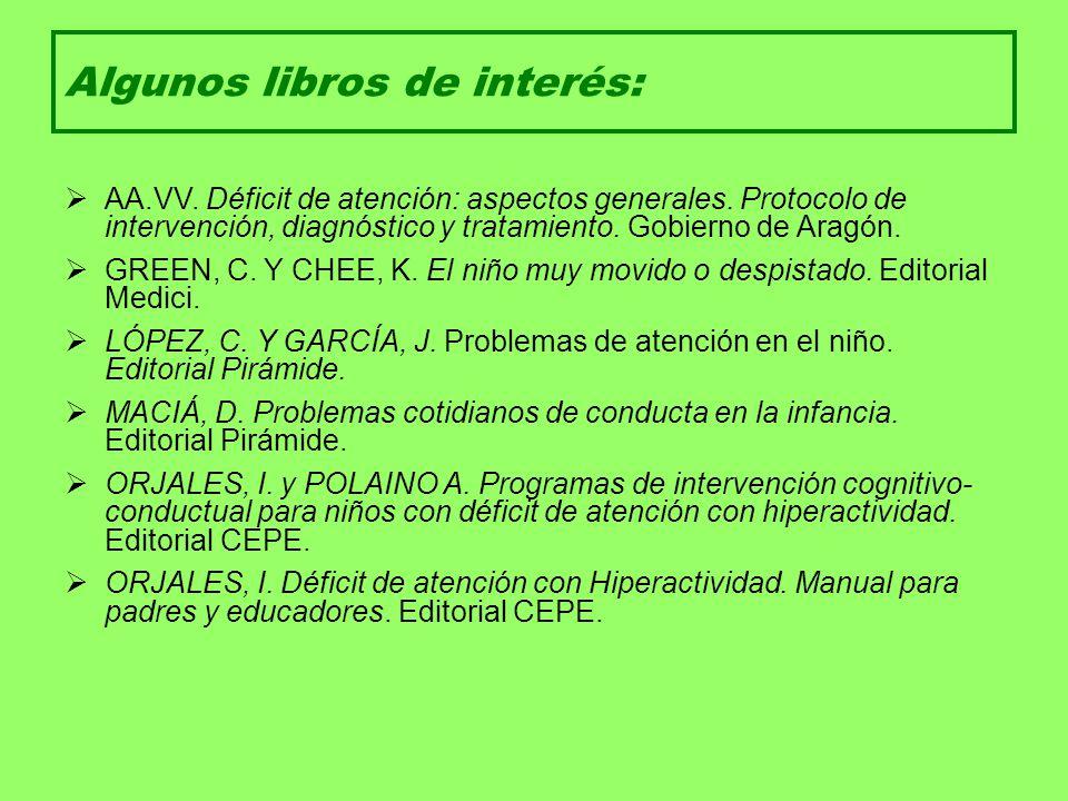 Algunos libros de interés: