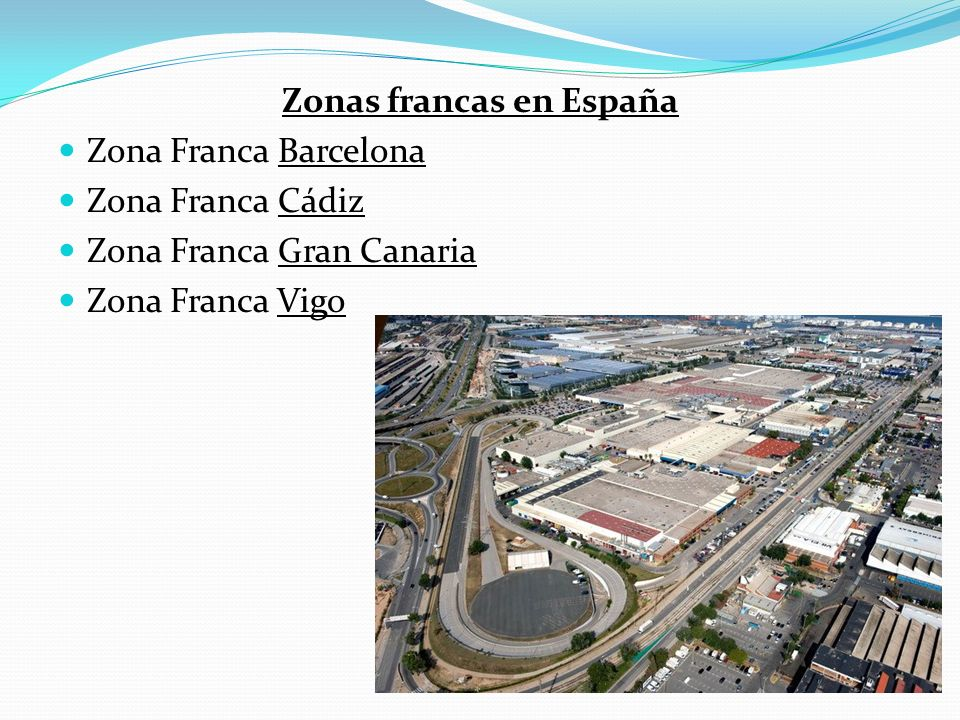 Zonas francas en España