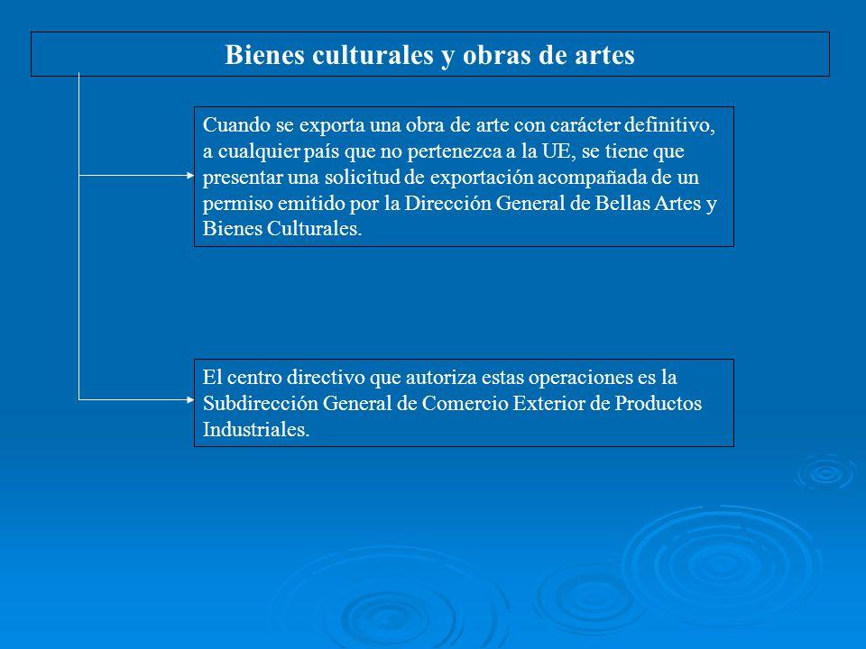 Bienes culturales y obras de artes