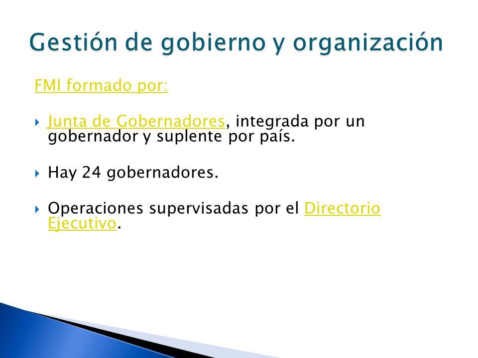 Gestión de gobierno y organización