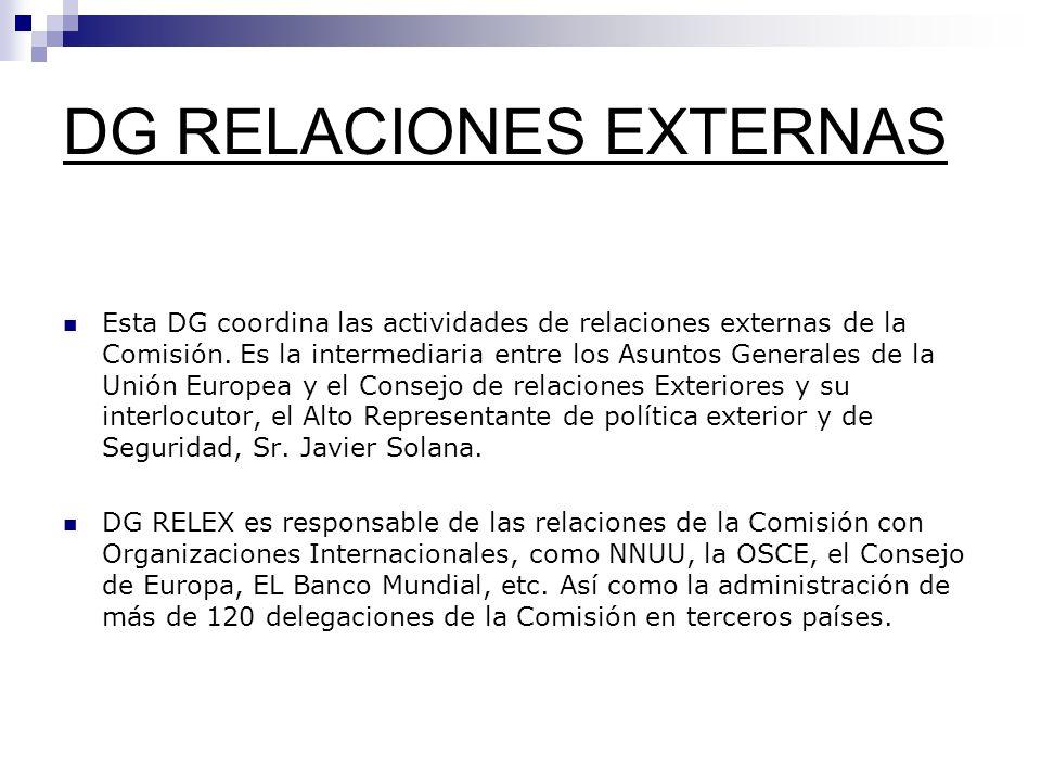 DG RELACIONES EXTERNAS