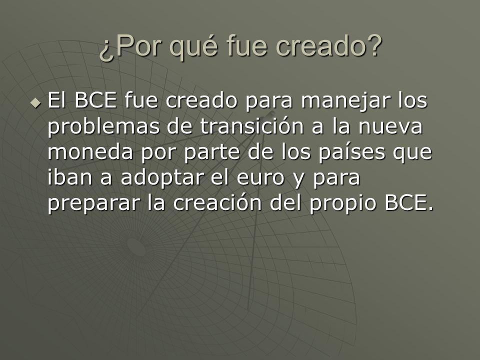 Banco Central Europeo (BCE) - ppt video online descargar