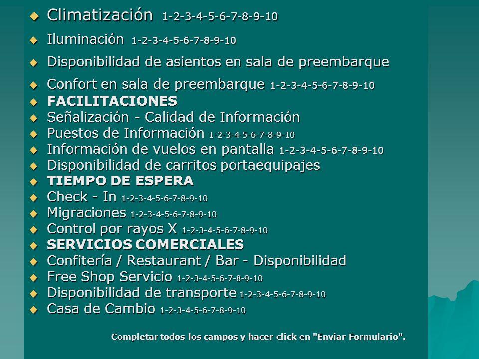 Climatización 1-2-3-4-5-6-7-8-9-10