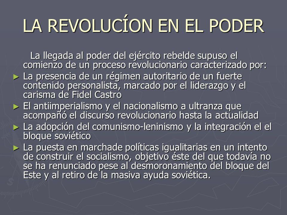 LA REVOLUCÍON EN EL PODER