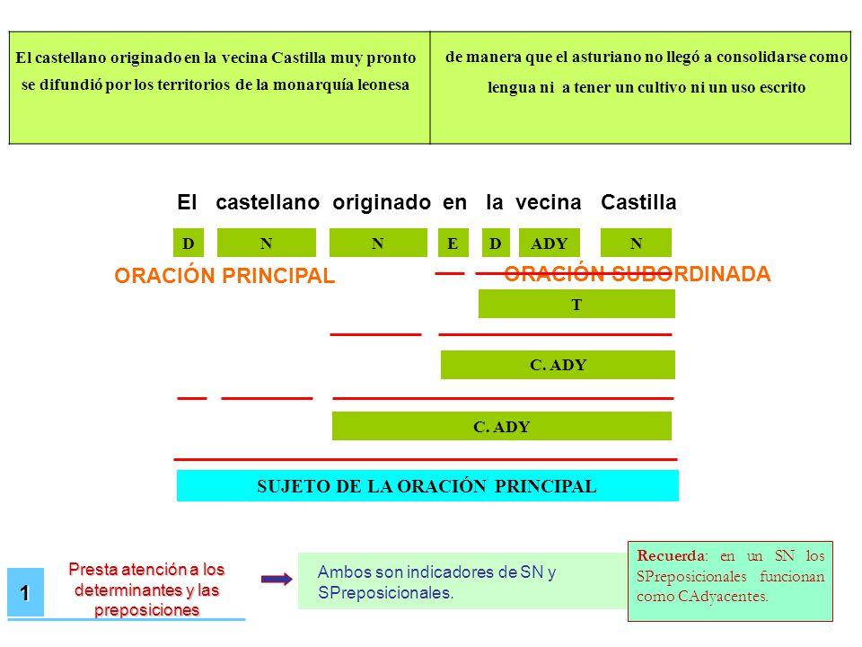 El castellano originado en la vecina Castilla