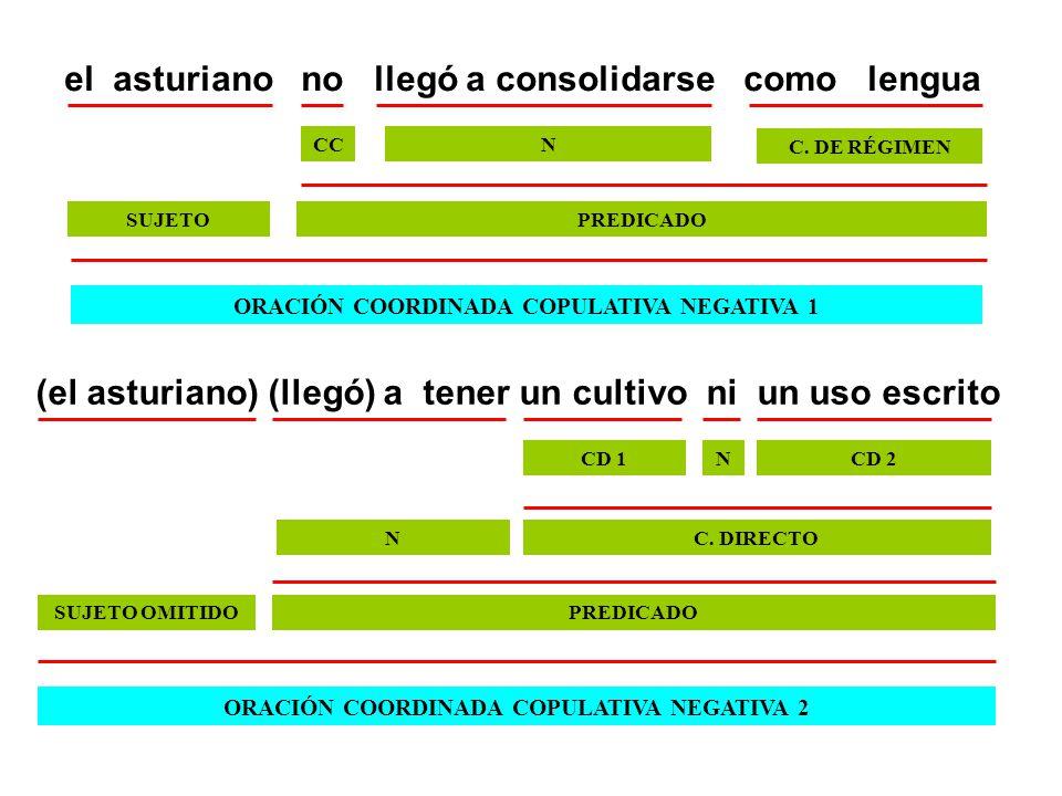 el asturiano no llegó a consolidarse como lengua
