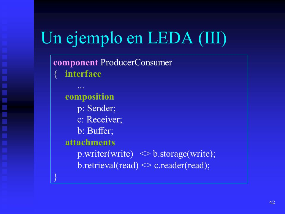 Un ejemplo en LEDA (III)