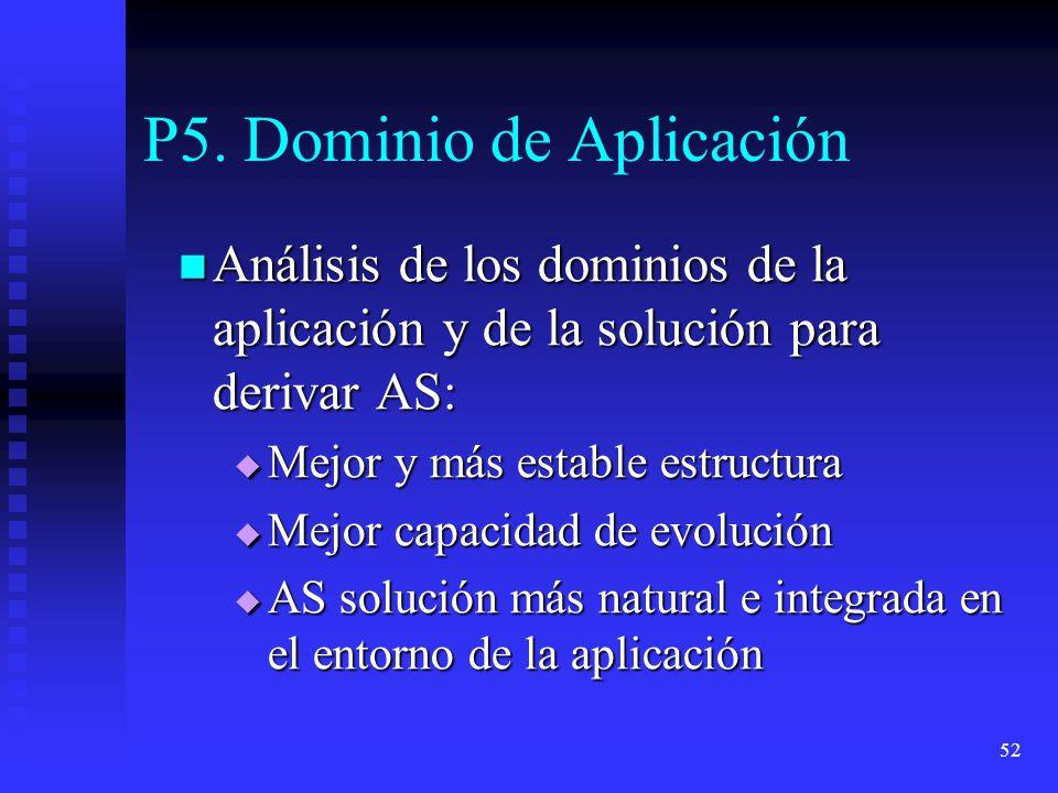 P5. Dominio de Aplicación