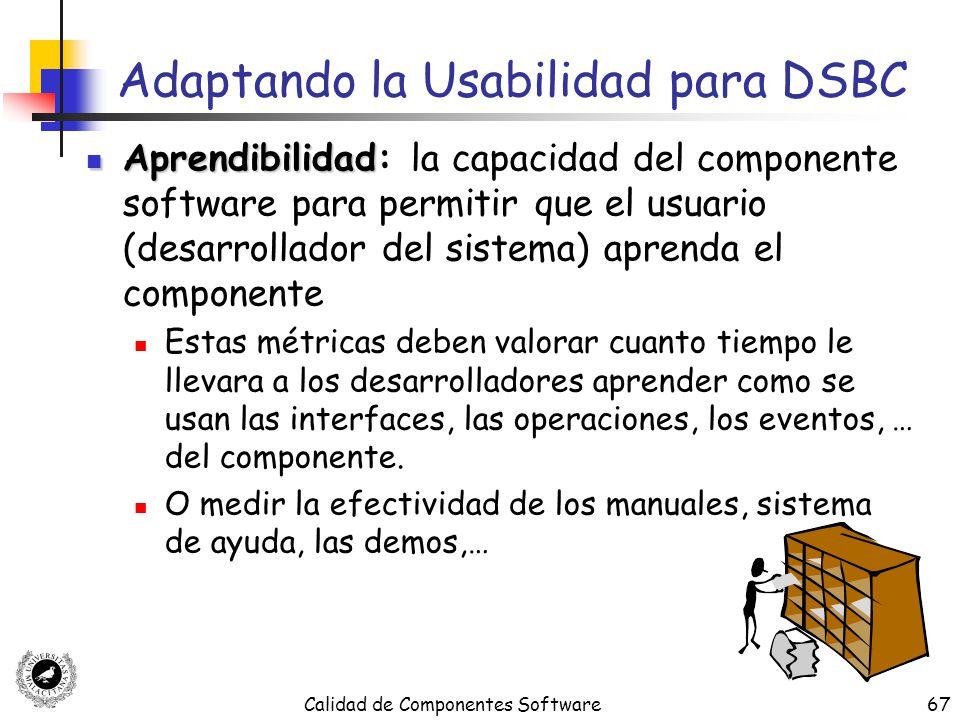 Adaptando la Usabilidad para DSBC