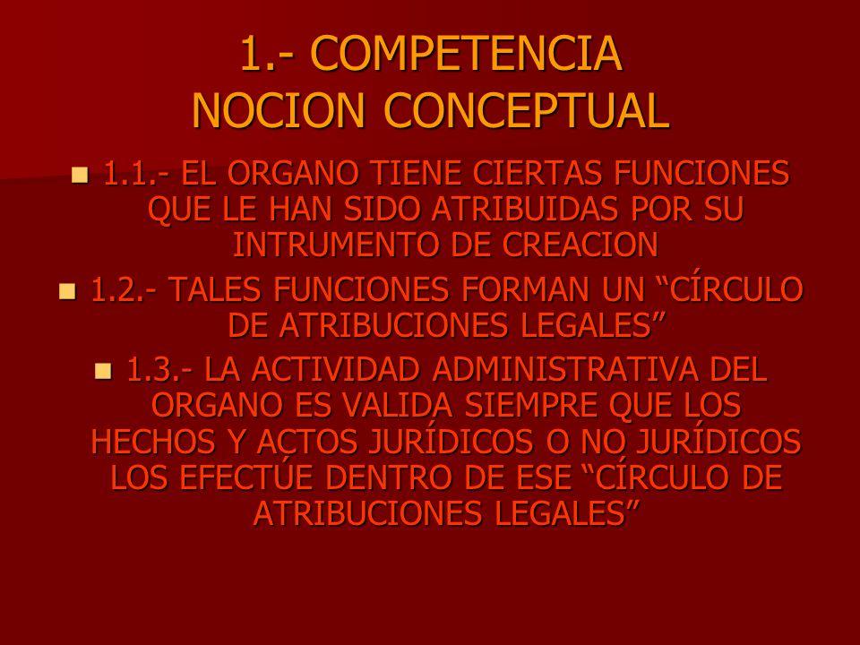 1.- COMPETENCIA NOCION CONCEPTUAL