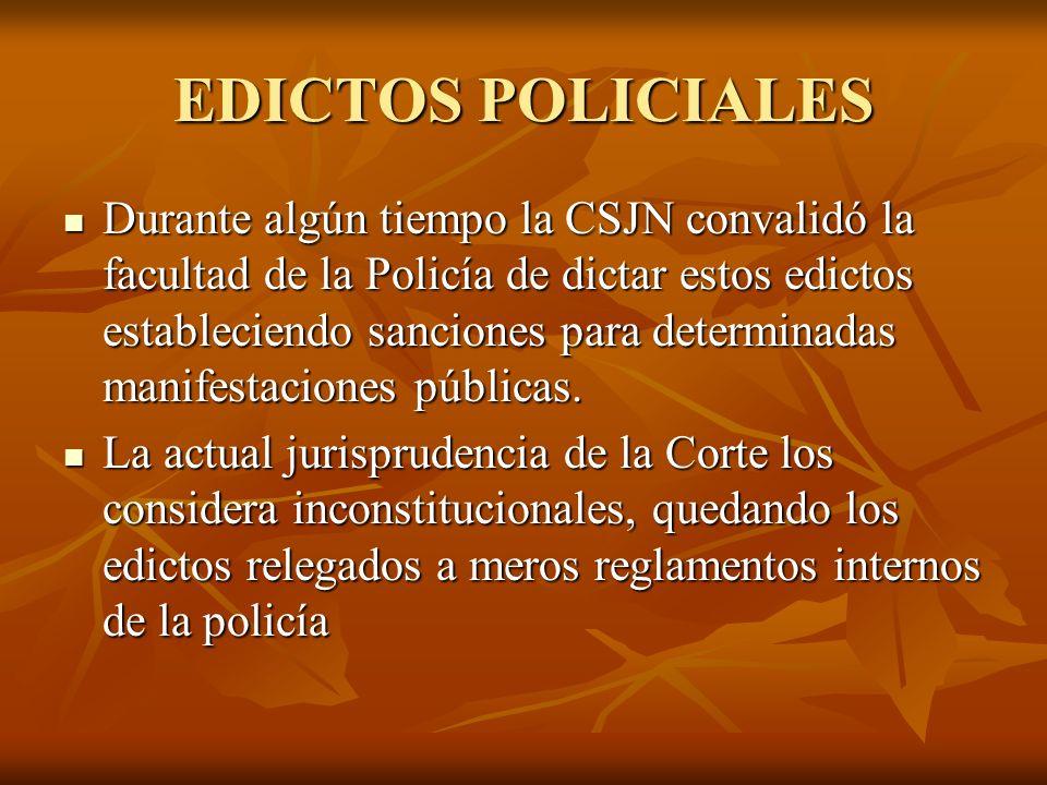 EDICTOS POLICIALES
