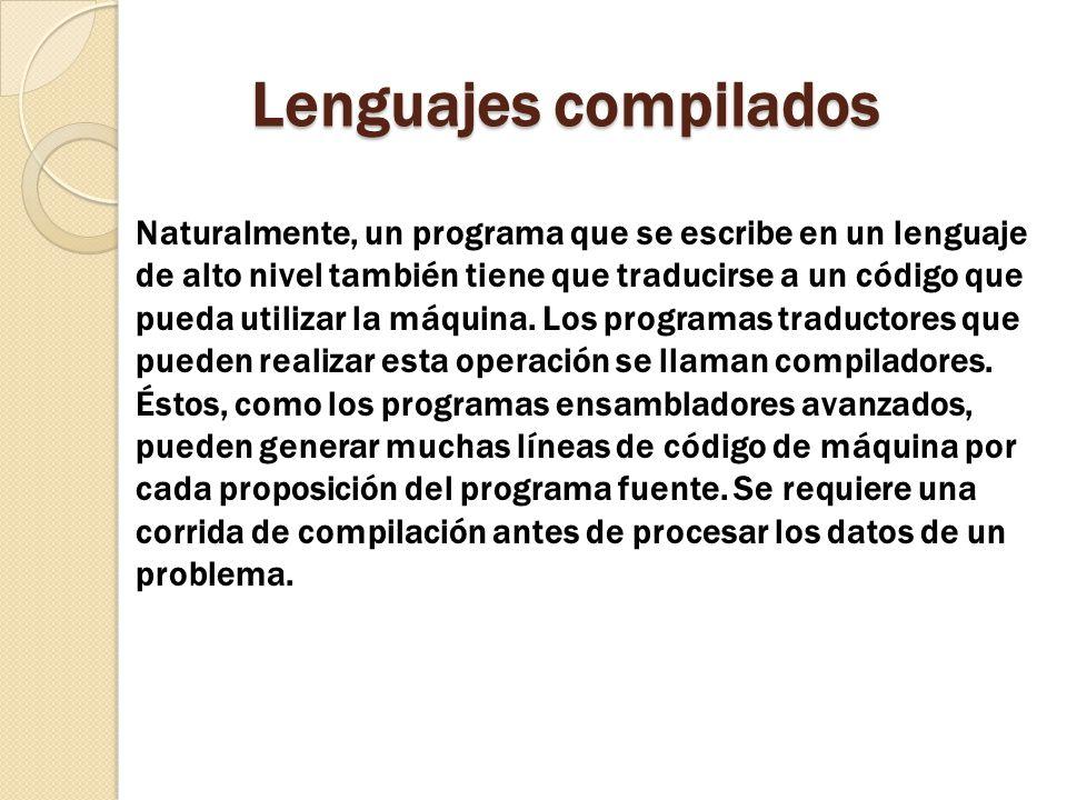 Lenguajes compilados