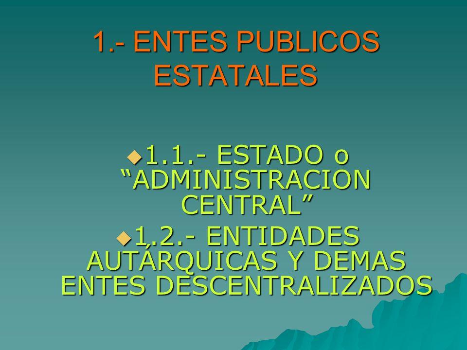 1.- ENTES PUBLICOS ESTATALES