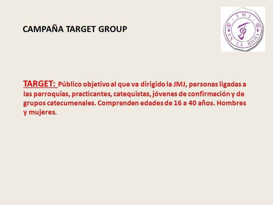 CAMPAÑA TARGET GROUP