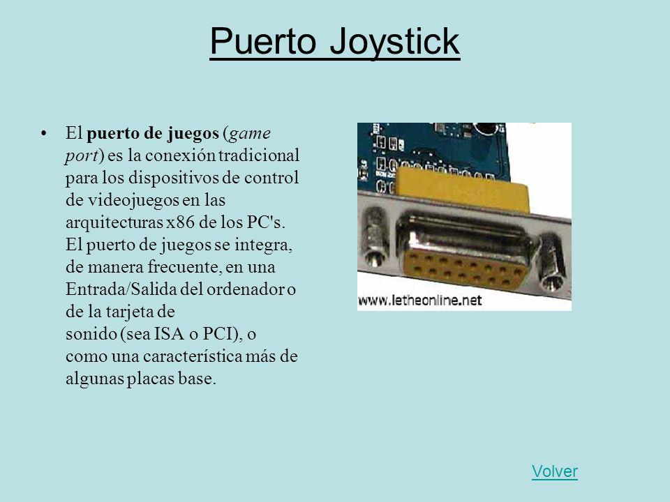Puerto Joystick