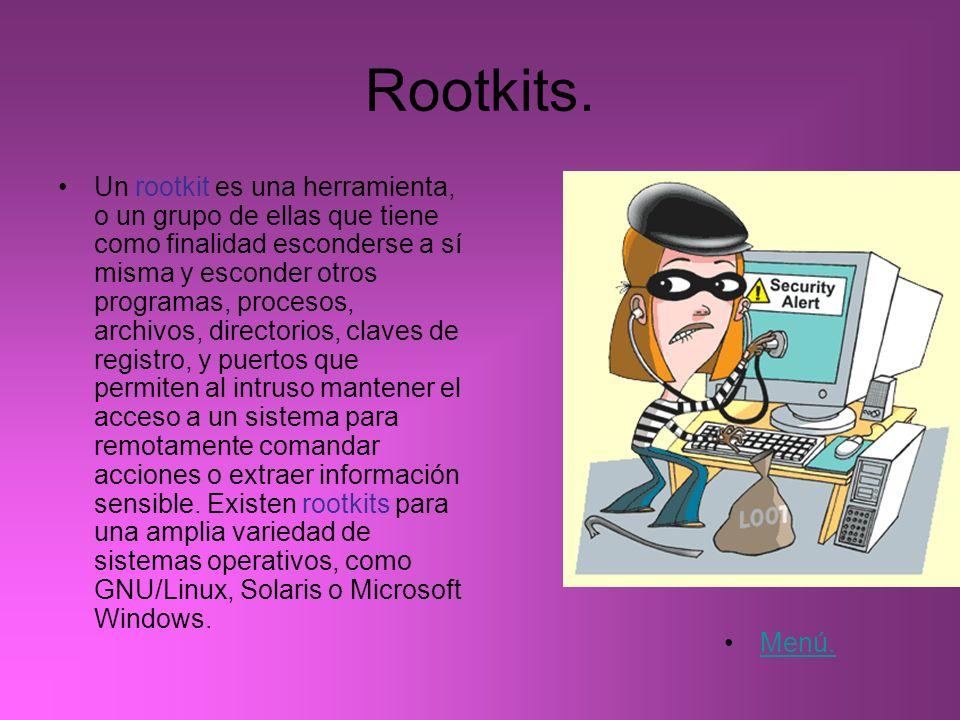 Rootkits.