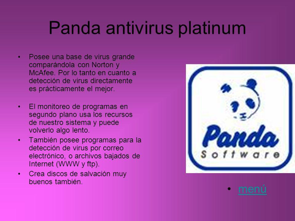 Panda antivirus platinum