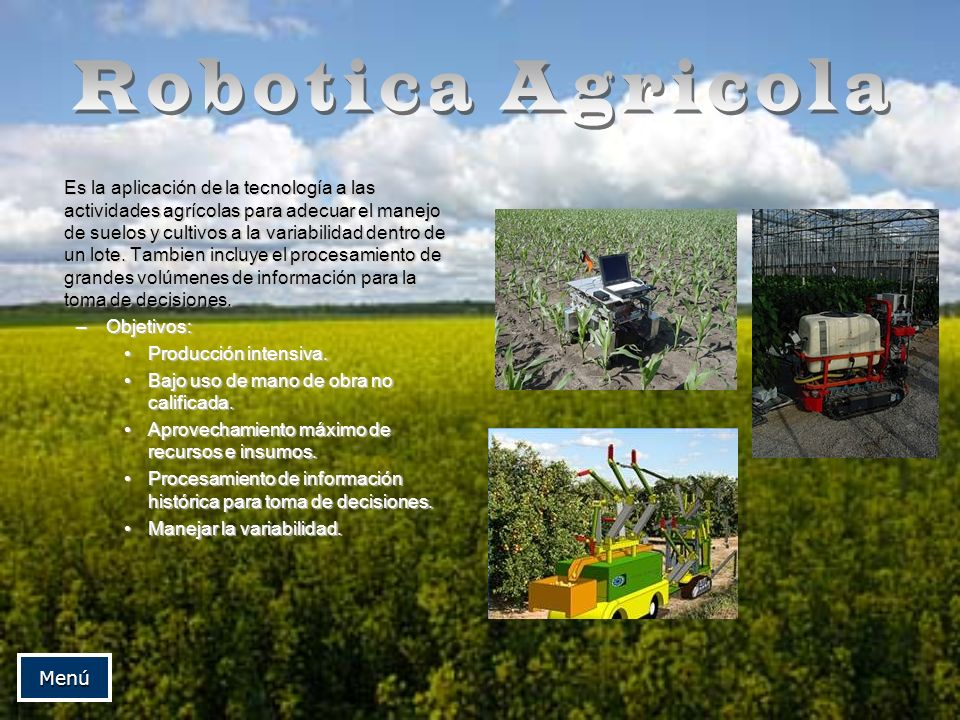 Robotica Agricola