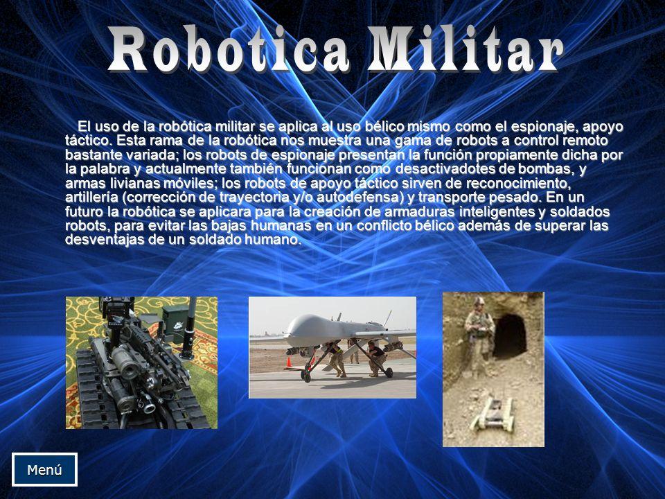 Robotica Militar