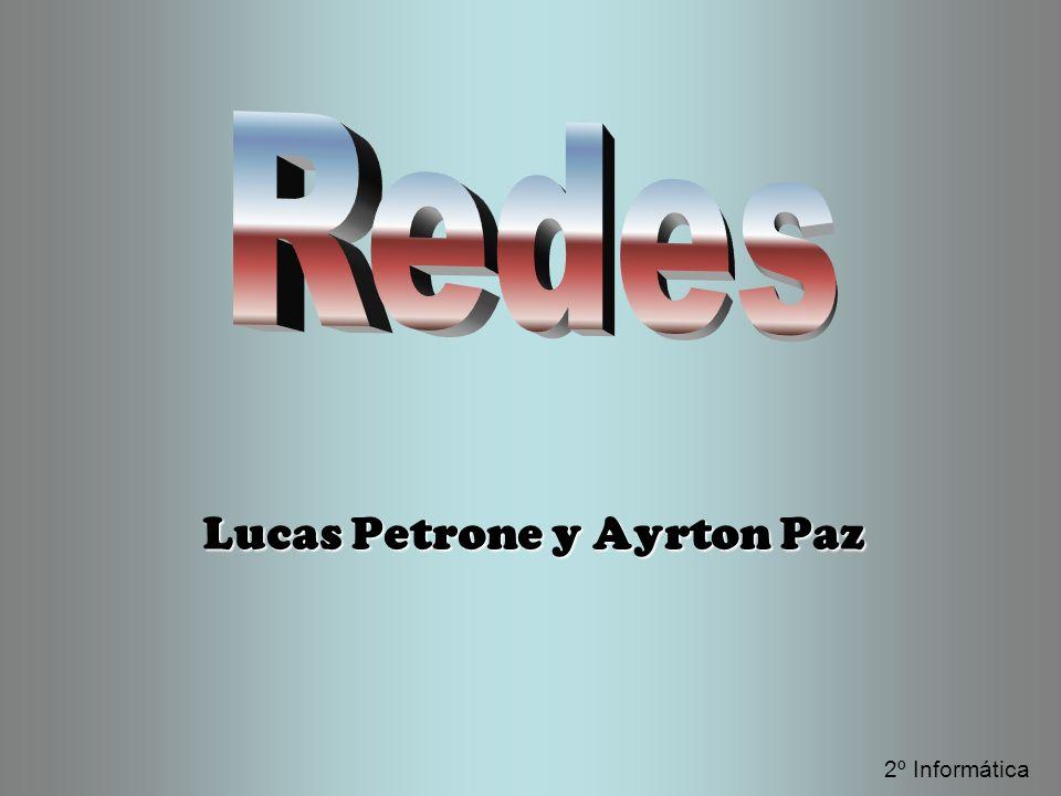 Lucas Petrone y Ayrton Paz