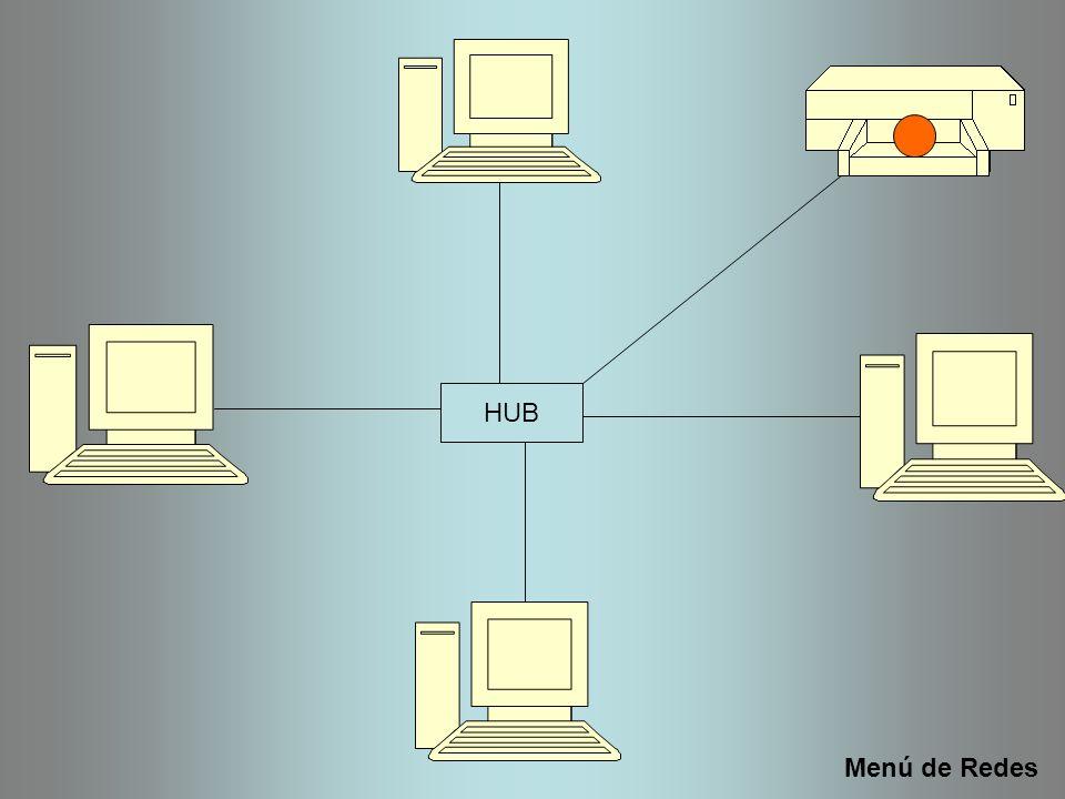 HUB Menú de Redes