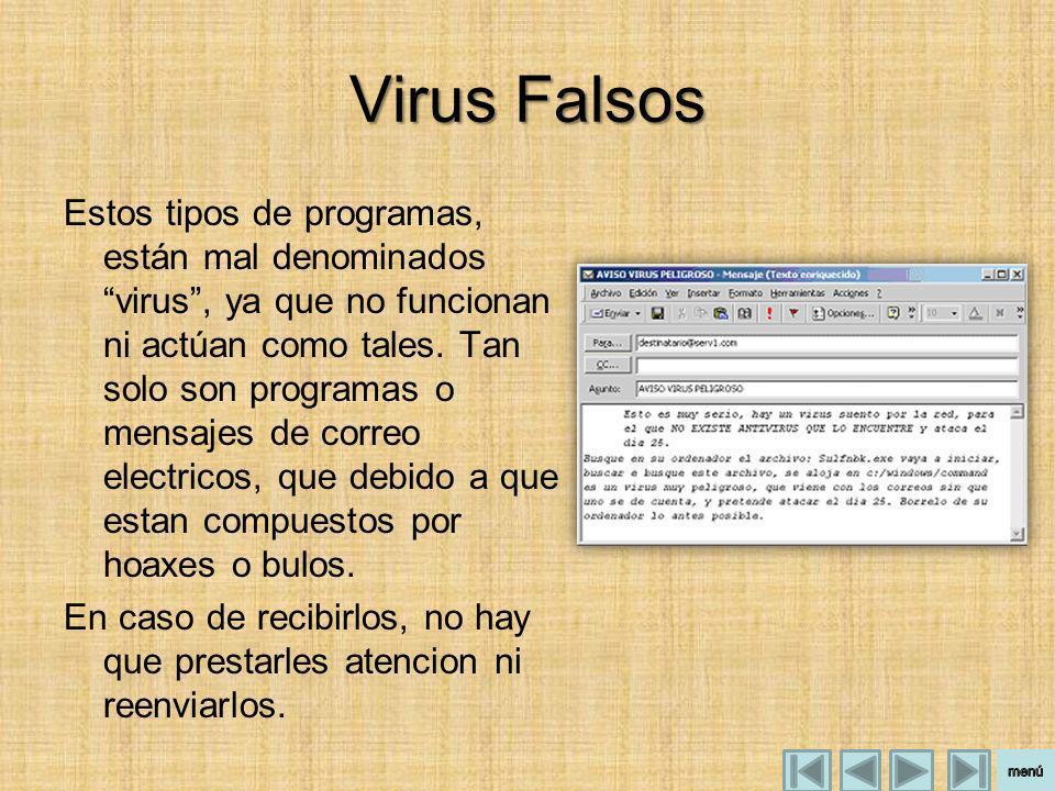 Virus Falsos
