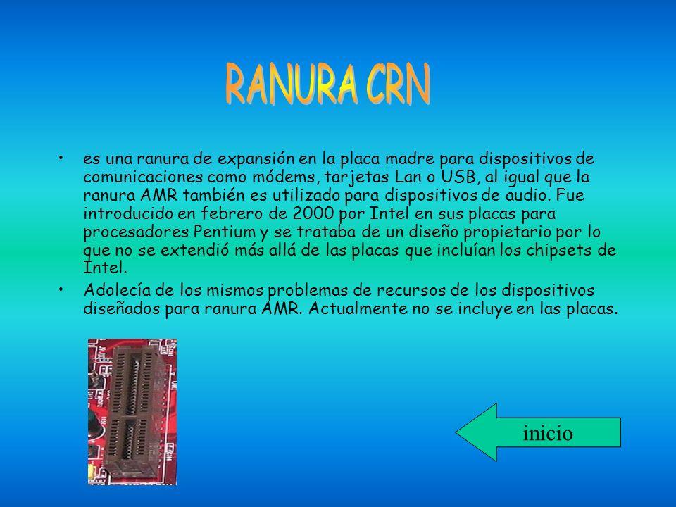 RANURA CRN