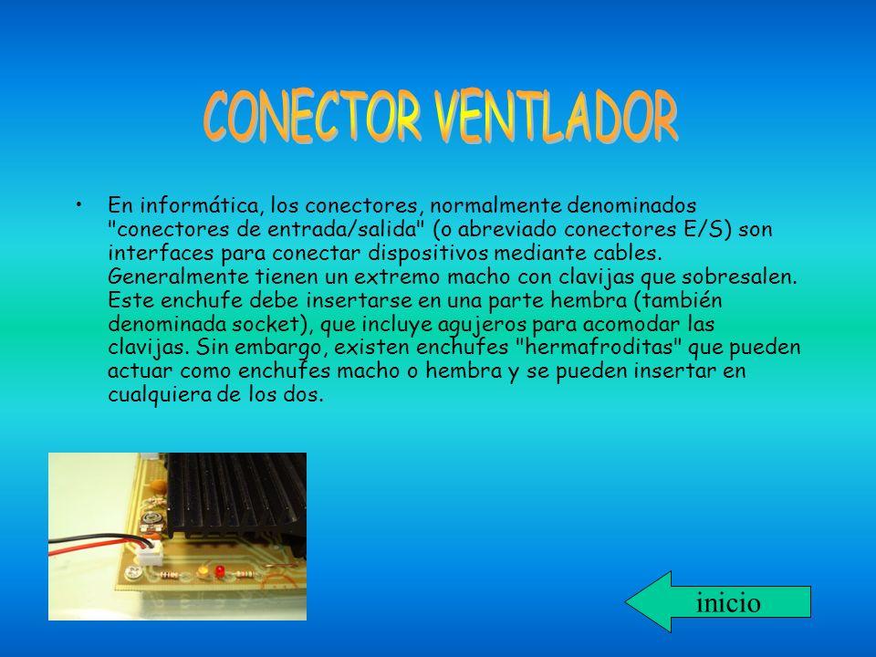 CONECTOR VENTLADOR inicio