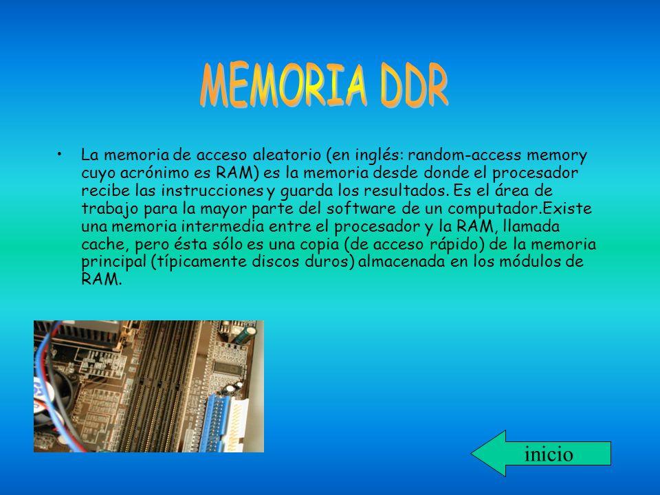 MEMORIA DDR