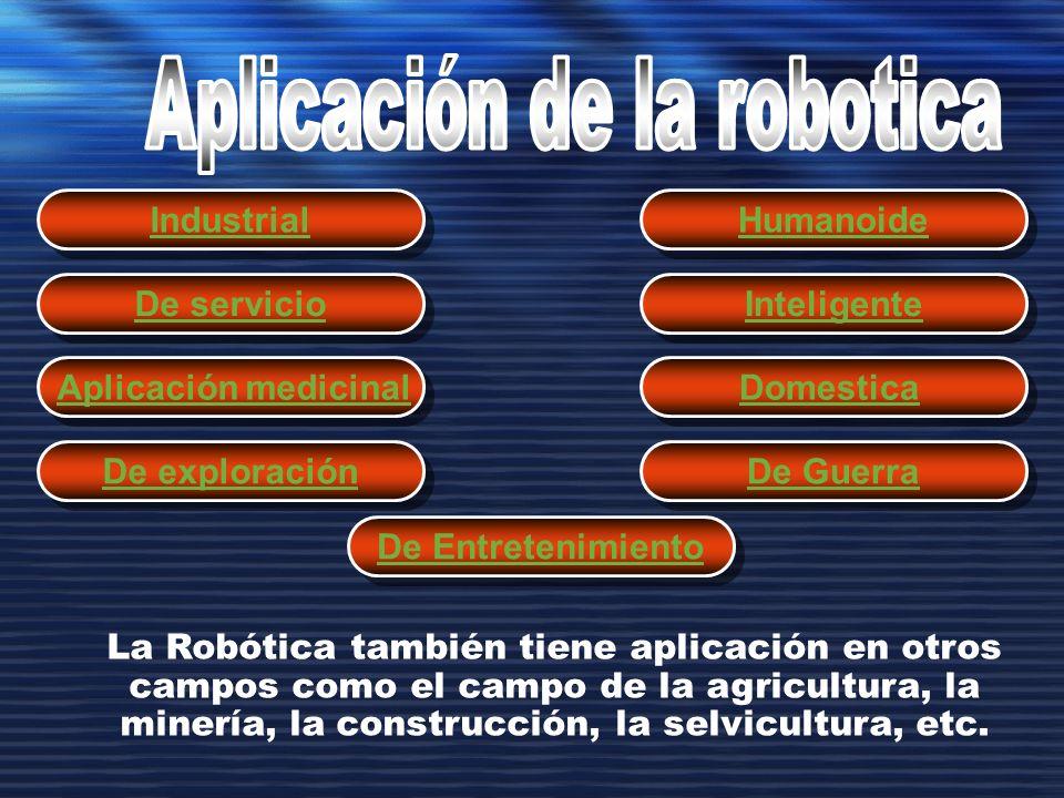 Aplicación de la robotica
