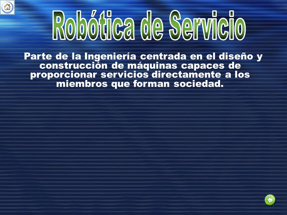 Robótica de Servicio