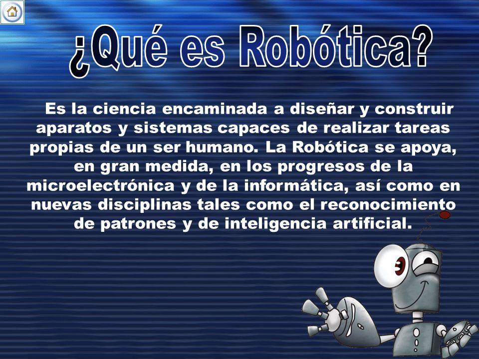 ¿Qué es Robótica
