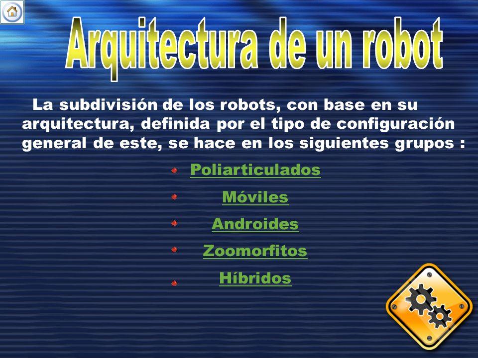 Arquitectura de un robot