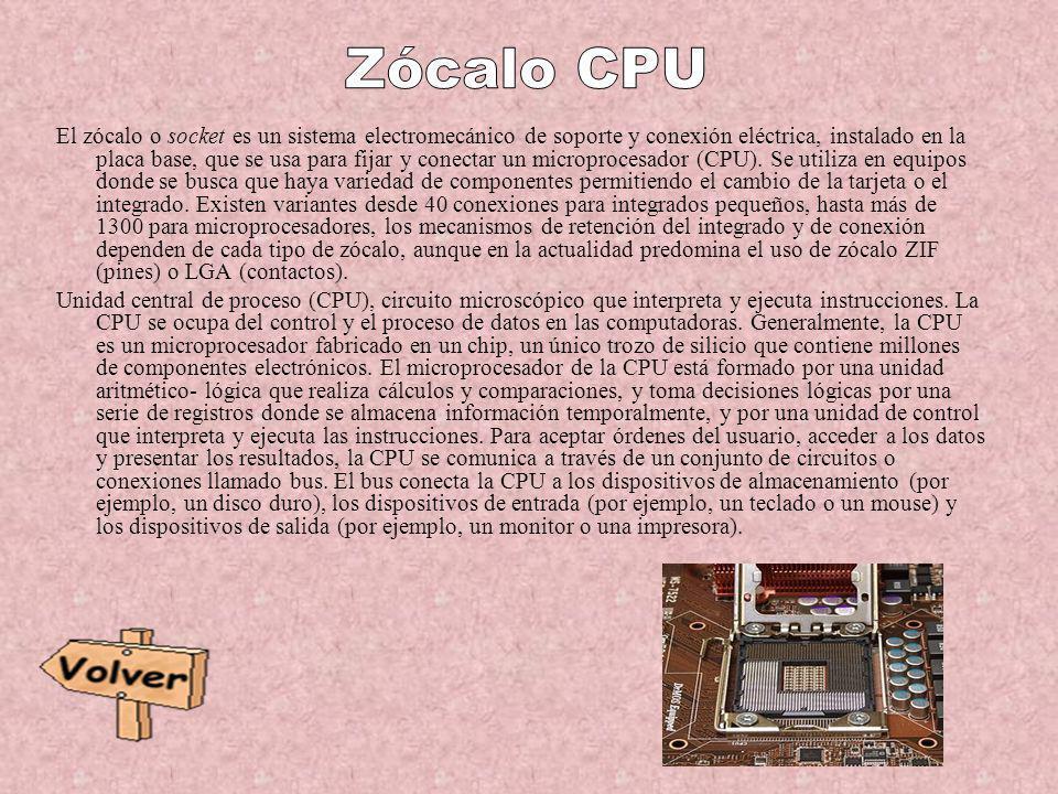 Zócalo CPU