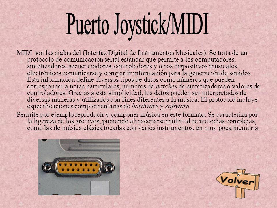 Puerto Joystick/MIDI
