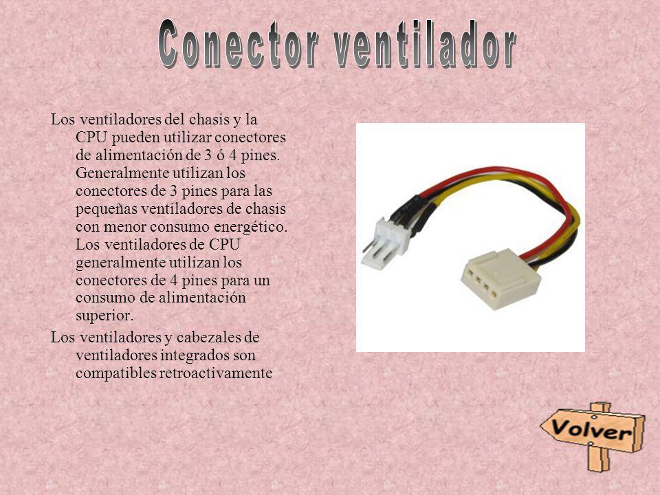 Conector ventilador