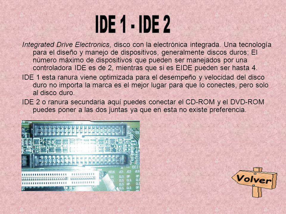 IDE 1 - IDE 2