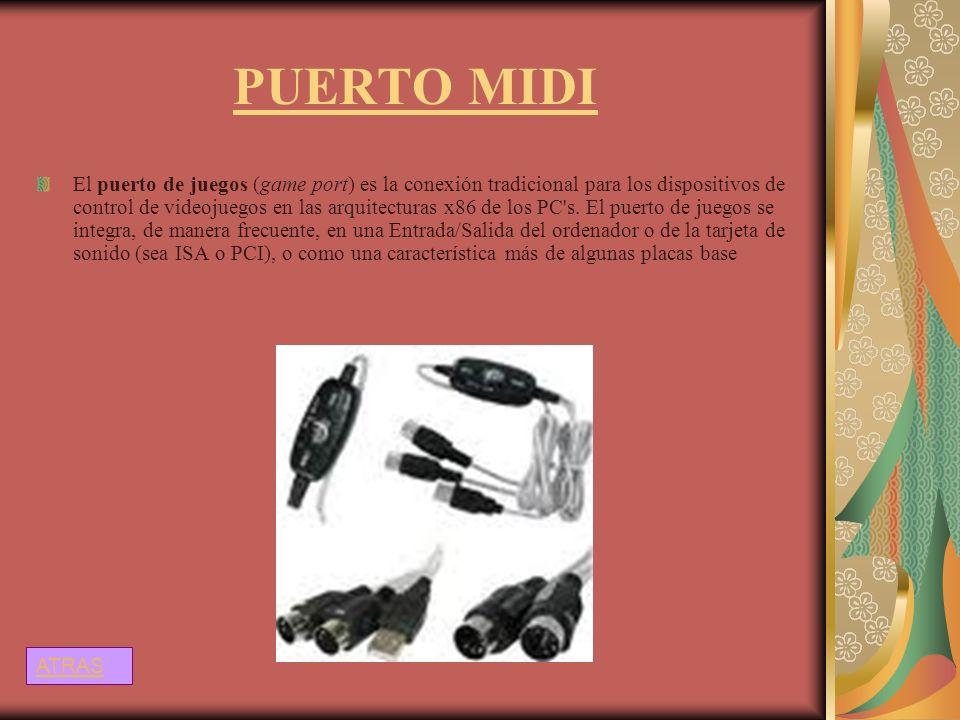 PUERTO MIDI