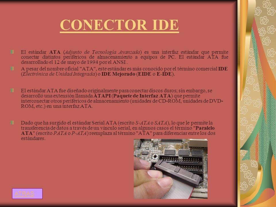 CONECTOR IDE