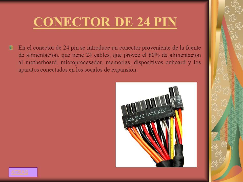 CONECTOR DE 24 PIN
