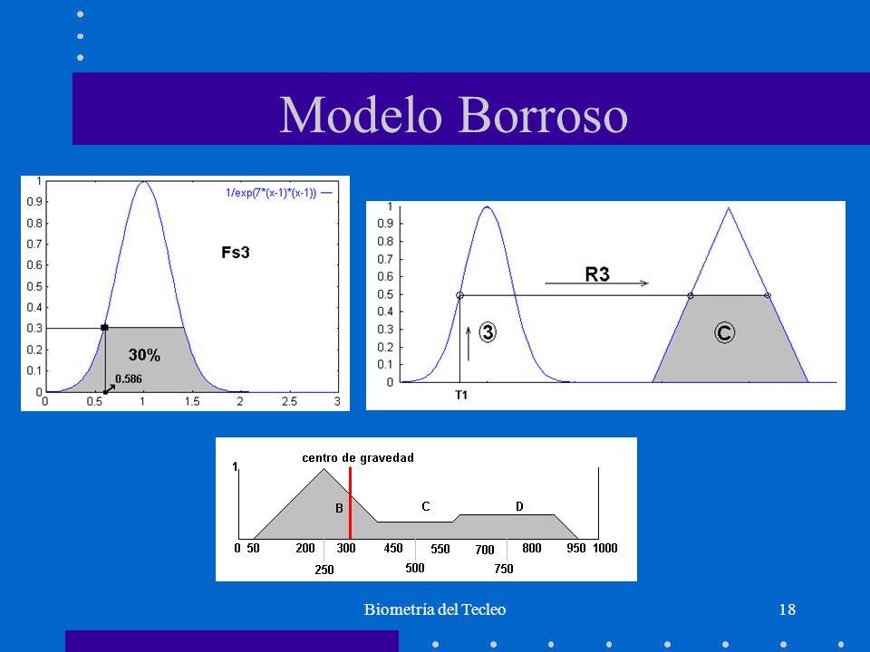 Modelo Borroso Biometría del Tecleo