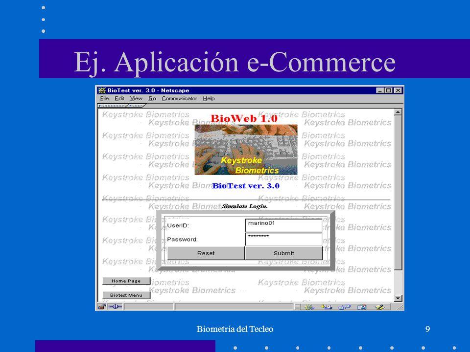 Ej. Aplicación e-Commerce