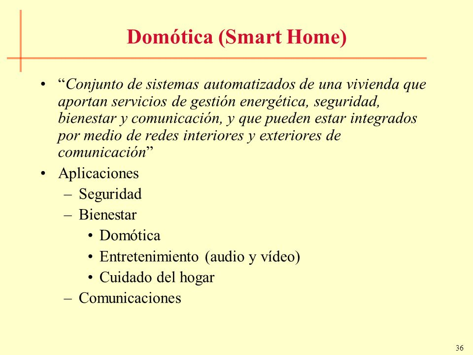 Domótica (Smart Home)