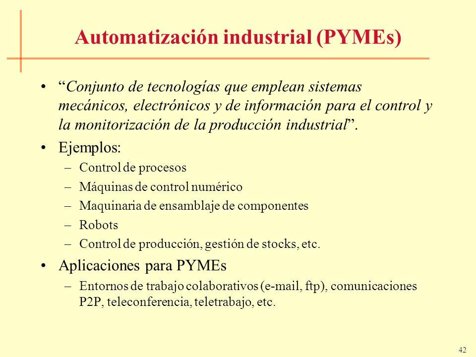 Automatización industrial (PYMEs)