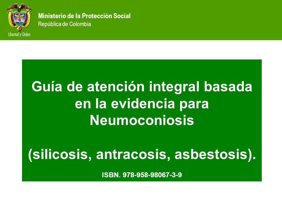 Guía de atención integral basada en la evidencia para Neumoconiosis