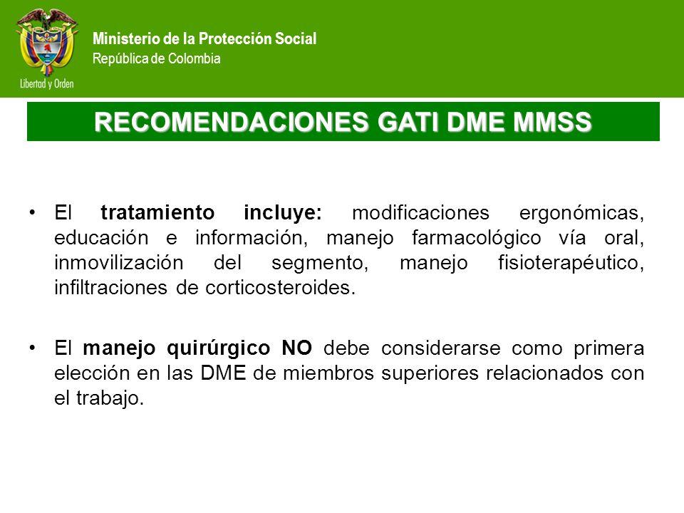 RECOMENDACIONES GATI DME MMSS