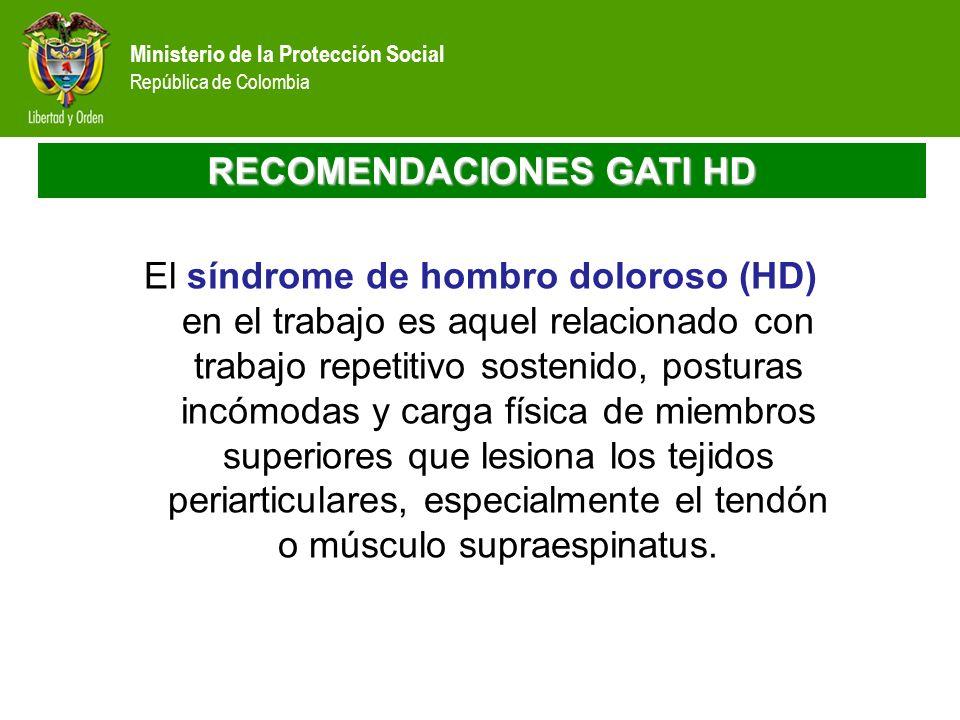 RECOMENDACIONES GATI HD