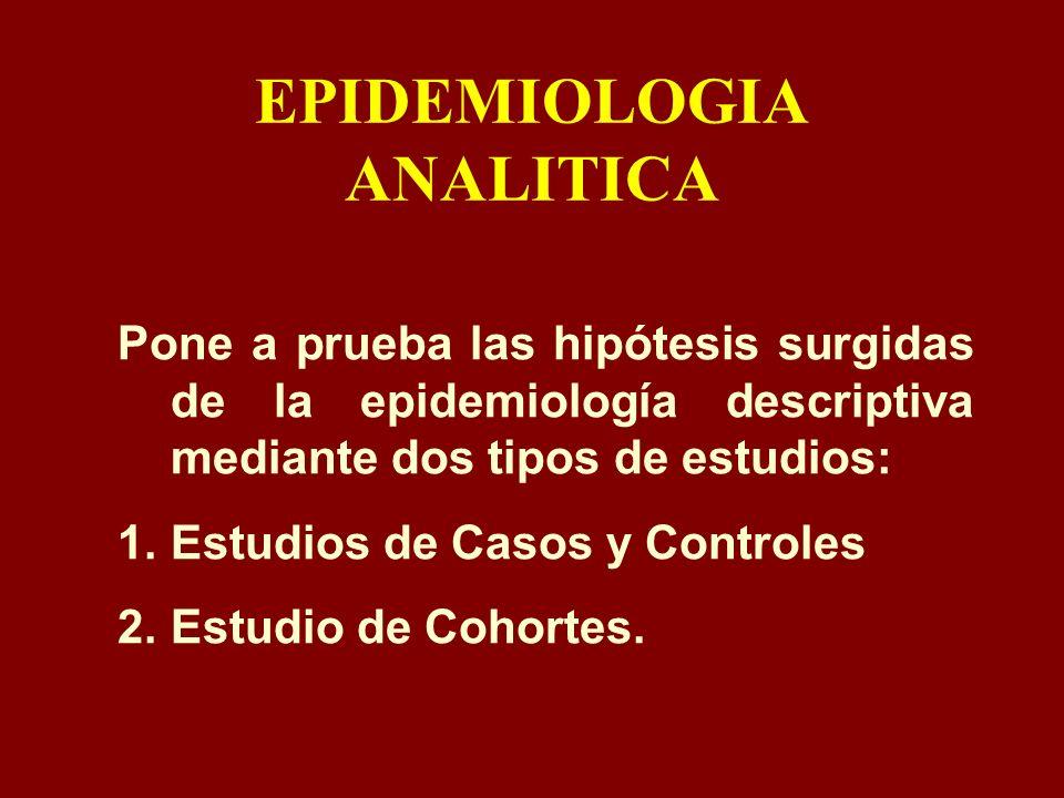 EPIDEMIOLOGIA ANALITICA