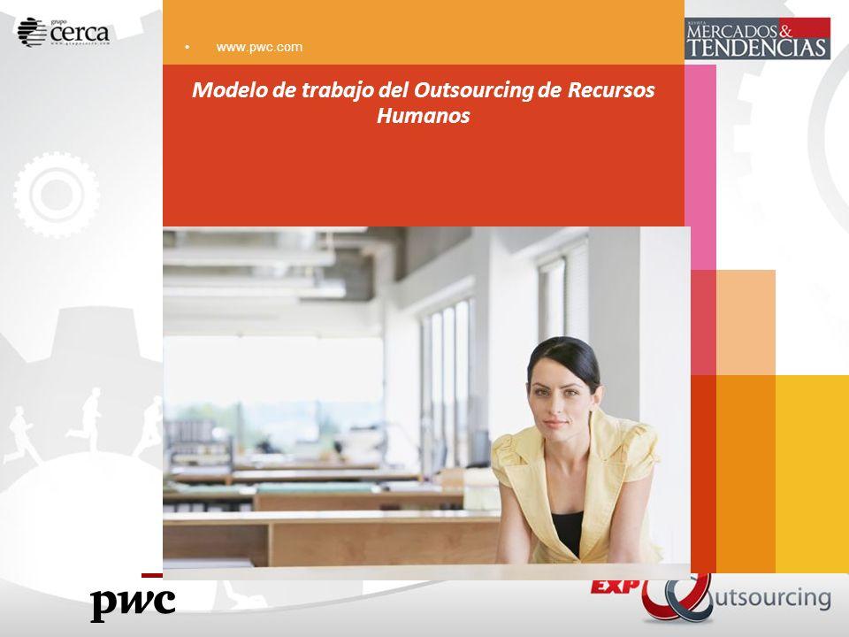 Modelo de trabajo del Outsourcing de Recursos Humanos