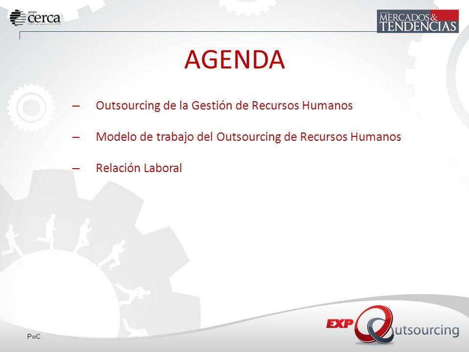 AGENDA Outsourcing de la Gestión de Recursos Humanos